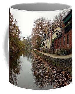 Fall On The Canal Coffee Mug