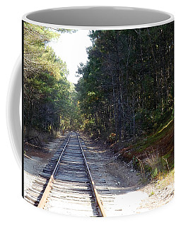 Fall Railroad Track To Somewhere Coffee Mug