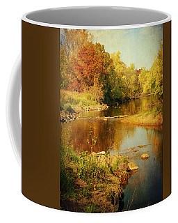 Fall Time At Rum River Coffee Mug