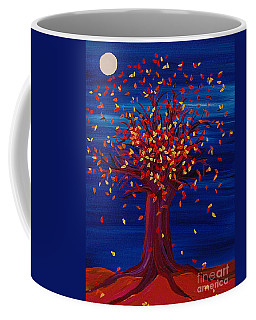 Fall Tree Fantasy By Jrr Coffee Mug by First Star Art