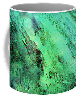 Coffee Mug featuring the mixed media Fallen by Ally  White