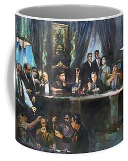 Fallen Last Supper Bad Guys Coffee Mug