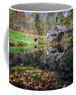 Fallen Leaves At Mabry Mill Coffee Mug