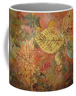 Fallen Leaves II Coffee Mug