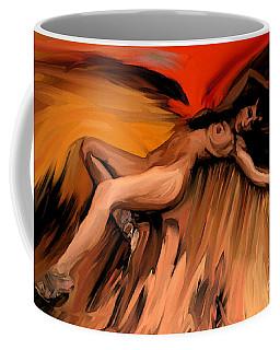Fallen Coffee Mug by Tbone Oliver