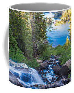 Falling Down To The Lakes Coffee Mug