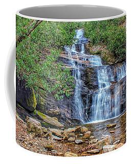 Falling From Mount Mitchell Coffee Mug