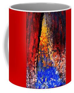 Coffee Mug featuring the painting Falling by Ian  MacDonald