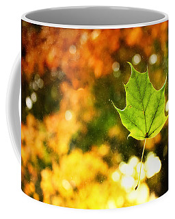 Falling Leaf Coffee Mug