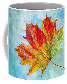 Falling Leaf - Painting Coffee Mug