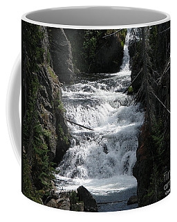 Coffee Mug featuring the photograph Falling Water by Greg Patzer