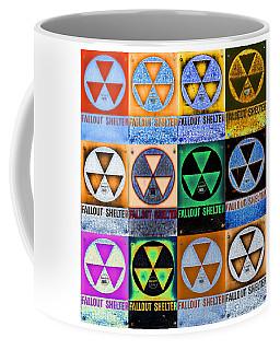 Fallout Shelter Mosaic Coffee Mug by Stephen Stookey