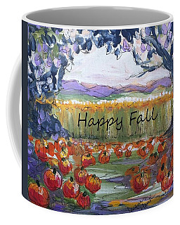Happy Fall Greeting Card  Coffee Mug