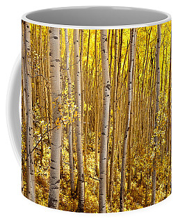 Fall's Golden Light Coffee Mug