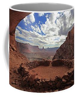 Coffee Mug featuring the photograph False Kiva by Alan Vance Ley