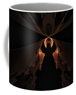 Coffee Mug featuring the digital art False Prophet by GJ Blackman