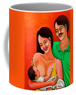 Family Coffee Mug by Cyril Maza