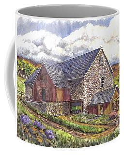 A Scottish Farm  Coffee Mug by Carol Wisniewski