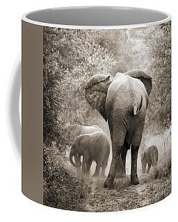 Family Of Elephants Coffee Mug