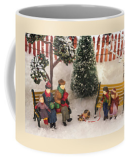 Family Outing Coffee Mug by Caitlyn  Grasso