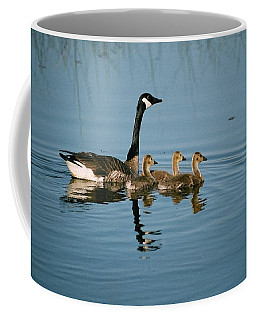 Coffee Mug featuring the photograph Family Outing by David Porteus