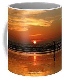 Family Reflections At Sunset - 4 Coffee Mug