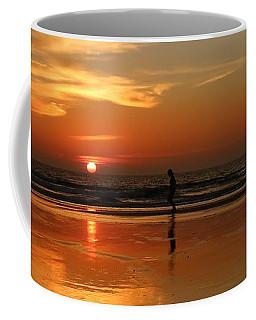 Family Reflections At Sunset - 5 Coffee Mug