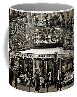 Famous Cafe De Flore - Paris Coffee Mug