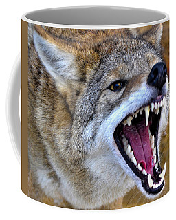 Fangs Coffee Mug by Adam Olsen