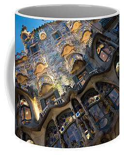 Fantastical Casa Batllo - Antoni Gaudi Barcelona Coffee Mug