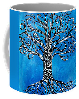 Fantastical Tree Of Life Coffee Mug