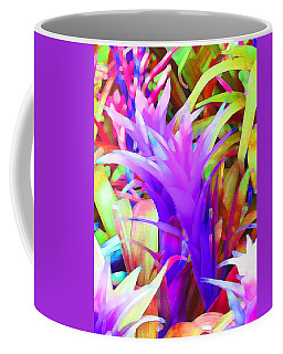 Fantasy Bromeliad Abstract Coffee Mug