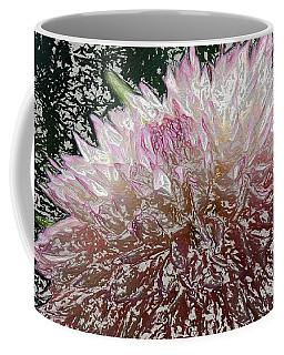 Coffee Mug featuring the photograph Fantasy Dahlia by Denyse Duhaime