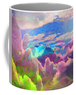 Abstract Fantasy Sky Coffee Mug