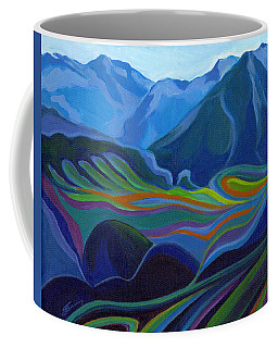Faraway Mountains Coffee Mug