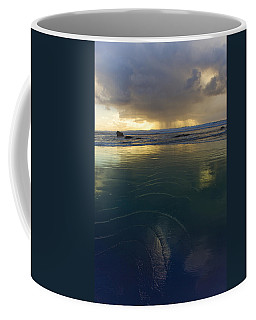 Faraway Rain Coffee Mug by Adria Trail