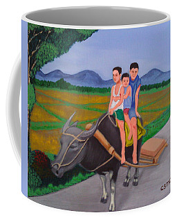 Farm Boys Coffee Mug by Cyril Maza