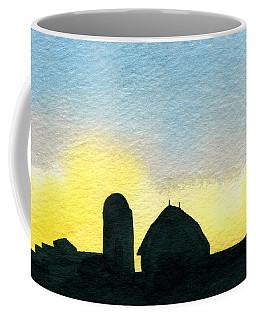 Farm Silhouette 1 Coffee Mug
