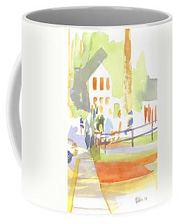 Coffee Mug featuring the painting Farmers Market II  by Kip DeVore
