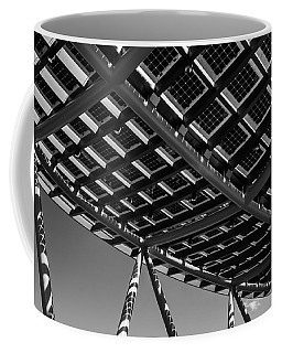 Farming The Sun - Architectural Abstract Coffee Mug by Steven Milner
