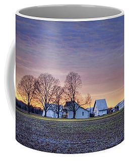 Farmstead At Sunset Coffee Mug