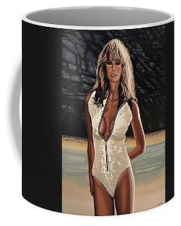 Farrah Fawcett Painting Coffee Mug