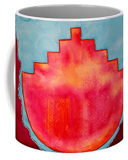 Fat Sunrise Original Painting Coffee Mug