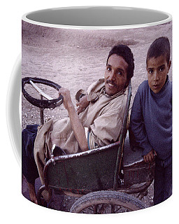 Father And Son Coffee Mug by Shaun Higson