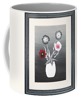 Faux Flowers II Coffee Mug