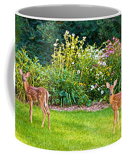 Fawns In The Afternoon Sun Coffee Mug