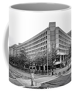 Fbi Building Front View Coffee Mug