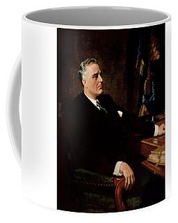 Fdr Official Portrait  Coffee Mug