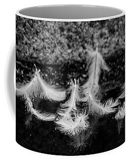 Angels Pass By - Monochrome Coffee Mug