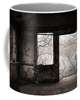 February - Comfortable Seclusion - Self Portrait Coffee Mug